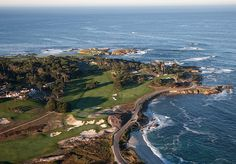 Cypress Point Golf Club. One of the wonders of the golfing world. #cypress #golf #linkscourse