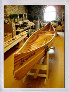 Canoe - Offerman Woodshop