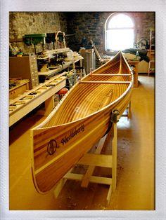 Canoe - Offerman Woodshop: beautiful!