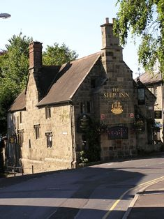 THE SHIP INN in the city of Shaftesbury in Dorset, England