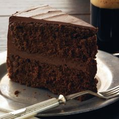 Coffee-Chocolate Layer Cake with Mocha-Mascarpone Frosting Recipe - Bon Appétit