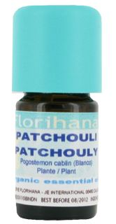 Patchouli oil and a giveaway