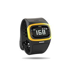 Mio Alpha 2 Continuous Heart Rate Watch Yellow ML * Click for Special Deals  #HeartRateWatches