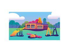 Playground by Nick Kumbari - Dribbble