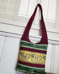 """5d08e1e6c CustomDesignUSA on Instagram: """"Excited to share the latest addition to my  shop: Fabric crossbody bag, Unique, Burmese-Shan bags, Gift ideas, fabric  shoulder ..."""