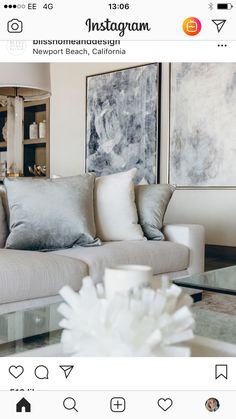 Living Area, Living Room, Lounges, Newport Beach, Love Seat, Couch, Throw Pillows, Bed, Inspiration