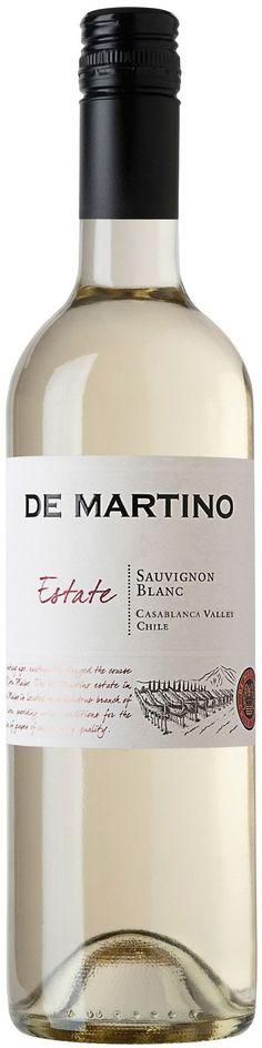 """""""Estate Reserva"""" Sauvignon blanc 2013 - Viña De Martino, Valle del Maipo------------------------- Terroir: Valle de Casablanca - Región de Aconcagua"""