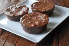 Mini Chocolate Cheesecakes (made with greek yogurt)