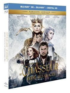 La suite d'un célèbre conte #blancheNeige #reinedesGlaces #universal DVD et blu-ray : La Reine des glaces, mère éplorée...