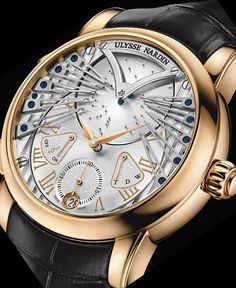 Baselworld 2013: Ulysse Nardin Stranger,  mechanical musical watch that plays 'Strangers in the Night'