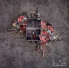 Art Designs by Mary: ''Key to Success'' - DT layout for More Than Words. Mixed Media Canvas, Mixed Media Art, Scrapbooking Layouts, Scrapbook Pages, Word Challenge, More Than Words, Layout Inspiration, Victorian Gothic, Textures Patterns