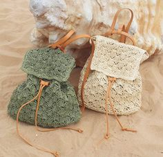 2016 Summer Women Straw Backpack Beach Bag Hollow Out Lady Drawstring Backpack Knitted Handmade Crocheted Woven Bag Travel Bag