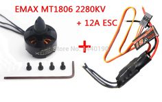 23.91$  Buy here - http://alijv4.shopchina.info/1/go.php?t=32237975081 - EMAX MT1806 2280KV CCW Brushless Motor & EMAX 12A SimonK ESC for FPV QAV250 Multicopter   #buychinaproducts