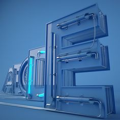 """i enjoy the habit of experiencing a lot in abstract typography, so i created this cinema 4d file based on a great typeface called """" TYPOGRAPHY PRO """". for cinema 4d users, every alphabet is fully animate - modified - and re-stretched .. do what you like wi…"""