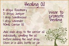 .helende olie