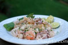 Fish with seafood sauce recipe