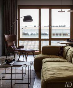 Интерьеры от Ники Воротынцевой на фото: квартира в новостройке в Москве | AD Magazine