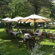 Im Garten feiern Forsthaus Waldhusen