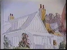How to Paint Houses in Watercolour, Tutorial by UK Artist Martin Goode - YouTube