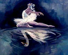 Community about Classical Ballet, Modern Dance and Rhythmic Gymnastics Ballerina Painting, Ballerina Art, Ballet Art, Ballet Dancers, Ballerinas, Ballet Drawings, Dancing Drawings, Art Drawings, Swan Lake Ballet