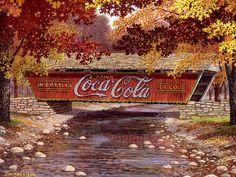 coca cola covered bridge mural - Bing Images