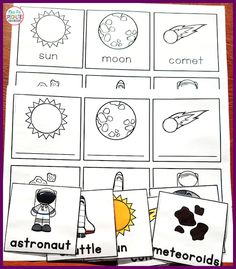 Write and count the room are fantastic activities for combining movement and learning, but having enough space can be challenging. Here is a great alternative for small spaces. Kindergarten Units, Dramatic Play, Astronomy, Small Spaces, Seal, Teaching, Activities, Writing, Room