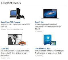 Best buy college student deals ipad
