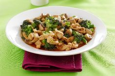 Pat's Broccoli and Chicken Stir-Fry | KitchMe