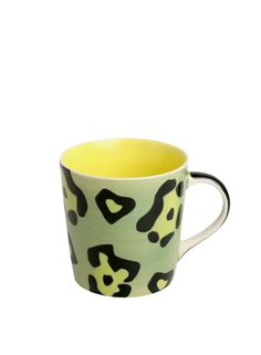 A Loja do Gato Preto   Caneca Leopardo Verde #alojadogatopreto