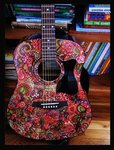 Sharpie guitar :D