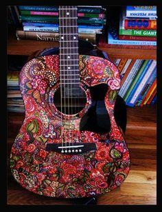 Sharpie guitar :D