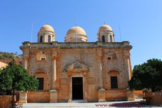 IERA MONI (monastery) AGIAS TRIADAS XANIA (Chania) CRETE - Greece