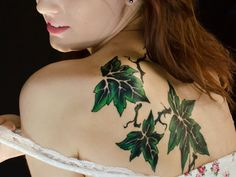 79 Simple Leaves Tattoo Design Ideas For Nature Lovers