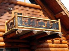 CS-280 Outdoor Railings for Balcony by NatureRails