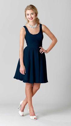 Kennedy Blue Bridesmaid Dress Quinn   Kennedy Blue (BUT IN EGGPLANT!)