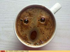 coffee surprise.