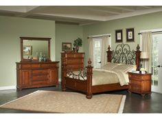 Kessner Oak Bedroom Set