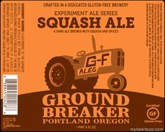 mybeerbuzz.com - Bringing Good Beers & Good People Together...: Ground Breaker Seasonal Squash Ale Returns