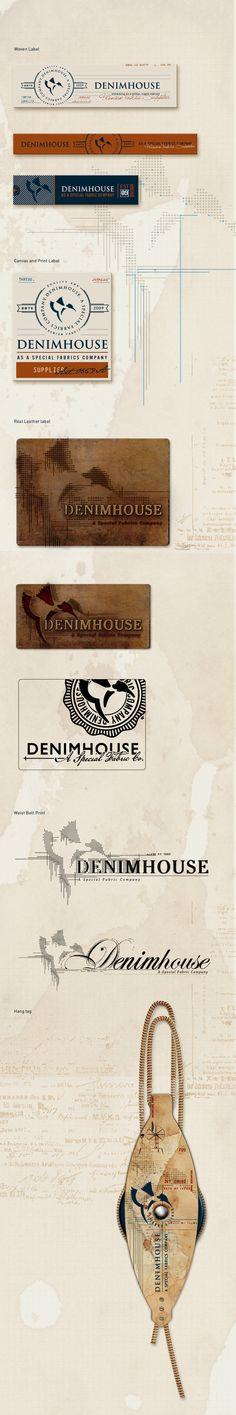 DENIMHOUSE VINTAGE PRINT AND ACCESSORIES by Öznur Çakal Demirhan, via Behance