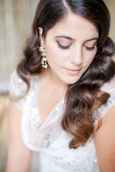 penteado simples para noiva