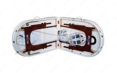 A SpaPro Lux Oval3 modell  AZEgyik legnagyobb méretű, összecsukható és hordozható masszázságy teljes felszereléssel is ~18 kg. Erre a masszázságyra tudunk egészségpénztári számlát kiállítani. Ez a termék kiválóan alkalmas kozmetikai kezelő- vagy tetováló ágynak.