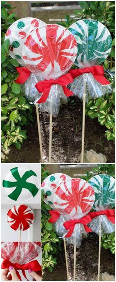 giant paper plate lollipops pinterest driveways decoration and