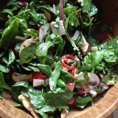salad time: quick & dirty!