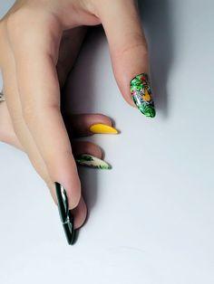 🐅J U N G🦜L E B O O K 🌵  HOT summer manicure Petra, Aqua, Tropical, Nails, Hot, Summer, Beauty, Finger Nails, Water