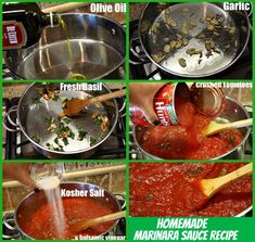 How to Make a really Easy Recipe for Homemade Marinara Sauce (so much better than the store-bought jarred stuff!!)