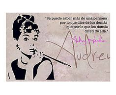 Lienzo Audrey - 20x30