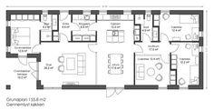 Study Nook, Nordic Home, Floor Plans, Cabin, Flooring, How To Plan, Inspiration, Patio, Biblical Inspiration