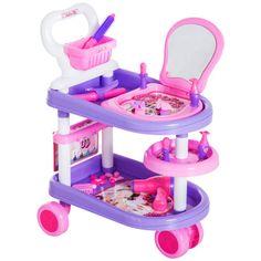 Valentine Gift Baskets, Valentine Gifts, Kids Playroom Furniture, Cosmetic Sets, Fancy Nancy, Kids Girls, Toy Chest, Purple, Pink