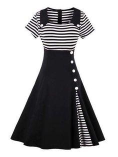 be00b1e62c0953 60s Dresses, Vintage Dresses Online, Pin Up Dresses, Fall Dresses, Cheap  Dresses