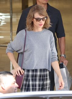 Taylor Swift goes to a Neiman Marcus store in Beverly Hills, October 29
